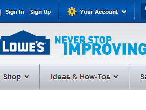 lowes soap services and crm