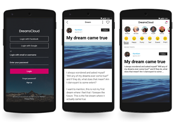 DreamsCloud Mobile